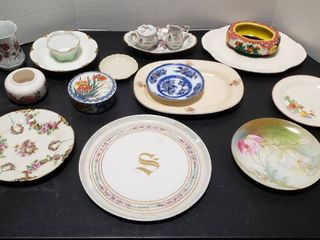 Ceramic Dishes and Plates   Some are Hand Painted
