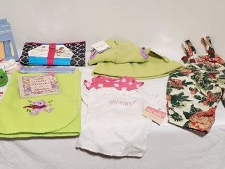 Baby Items   Clothing  Blanket  Changing Pad  and Bathroom items   All New