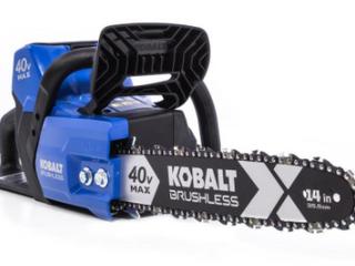 Kobalt Brushless 40V Max Chainsaw