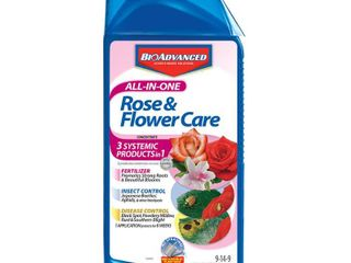 BioAdvanced All In One Rose   Flower Care  Concentrate  32 Ounce