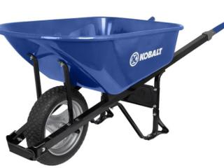 Kobalt 6 Cu Ft Wheelbarrow