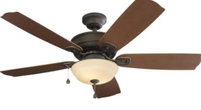 Harbor Breeze Echolake 52in Oil Rubbed Bronze Ceiling Fan