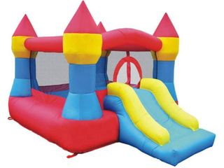 Inflatable Bounce House Castle w  Slide