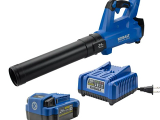 Kobalt Brushless 24V Max Blower with Battery and Charger