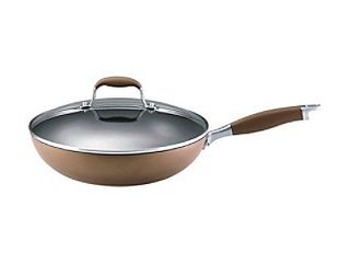 Anolon Advanced Bronze Ultimate Pan  Hard Anodized Nonstick 12in