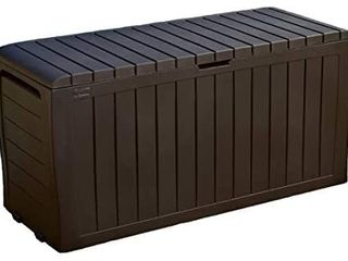 Keter Marvel Plus 71 Gallon Resin Outdoor Box For Patio Furniture Cushion
