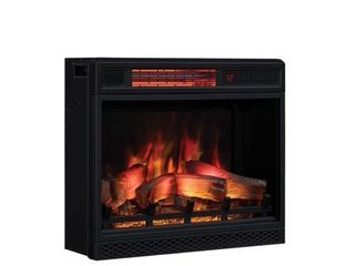 ClassicFlame Electric Fireplace   Black