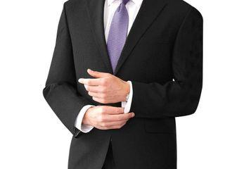 Navy 54R Affinity Apparel Men s Two Button Single Back Vent Blazer