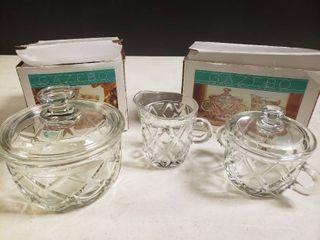 lot of 3 Gazebo Indiana Glass Dishes