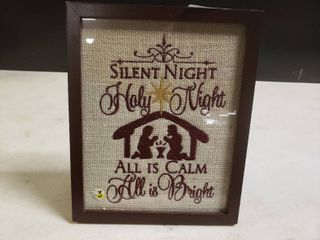 Silent Night Decor