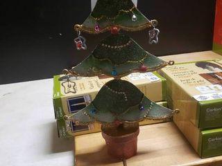 Metal Christmas Tree Stocking Holder