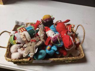 lot of Plush Ornaments