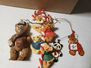 lot of Bear Ornaments