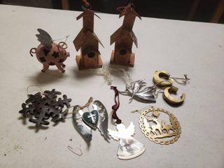 lot of Metal Ornaments