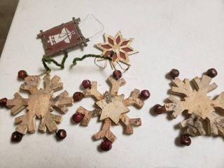 lot of Wooden Ornaments