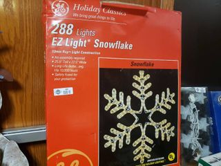 288 light EZ light Snowflake