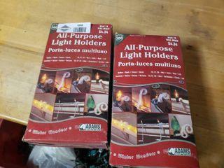 lot of All Purpose light Holders