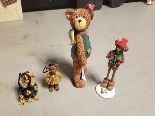 lot of Christmas Bears Decor