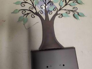 Hallmark Keepsake Metal Family Tree Ornament Display Stand