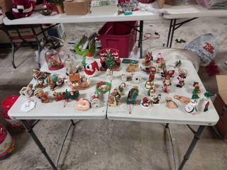 large lot of Christmas Decor