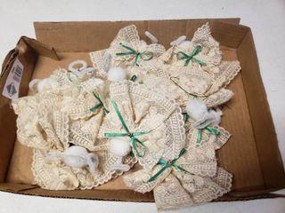lot of Matching Handmade Angel Ornaments