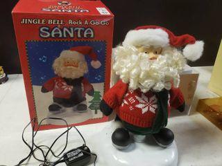 Jingle Bell Rock A Go Go Santa