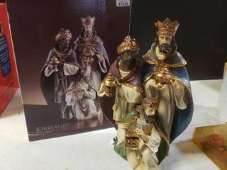 Kirkland s Wisemen Figurine