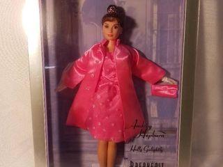 Mattel Audrey Hepburn in Breakfast at Tiffanys Pink PrincessTM Fashion by Barbie 1998