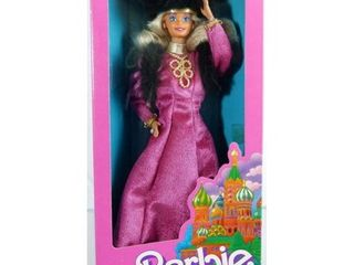 RUSSIAN BARBIE   1988 SPECIAl EDITION DOllS OF THE WORlD