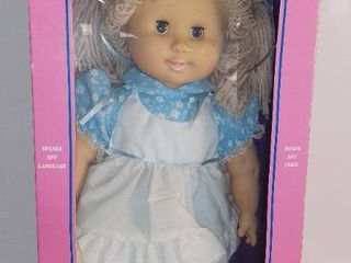 Vintage Buttons the Talking Doll in Box 1985