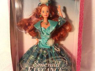 Barbie  emerald Elegance   Collector Edition Doll Mattel 1994