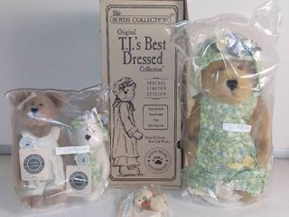 Boyds Bears T J s Best Dressed Collection