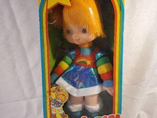 1983 Rainbow Brite Vtg Hallmark Cards Collector Doll Mattel