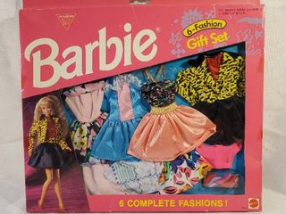 Barbie 6 Fashion Gift Set   Mattel 1993 Collection