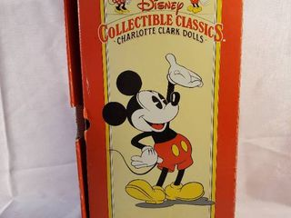 Applause Presents Disney Collectible Classics Charlotte Clark Dolls Minnie Mouse 1930 Doll Number 03246 with Certificate