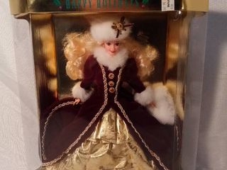 1996 Special Edition Blonde Happy Holidays Barbie