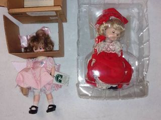 Nice lot Of 2 Dolls Ginny And Robin Woods