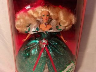 1995 Happy Holidays Barbie Special Edition Doll