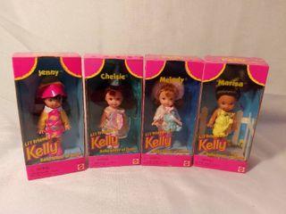 lot of 4 Barbie JENNY CHElSIE MElODY MARISA li l Friends of KEllY Doll  1996