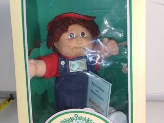 Vintage Cabbage Patch Kids Doll in Box   Rafael leroy