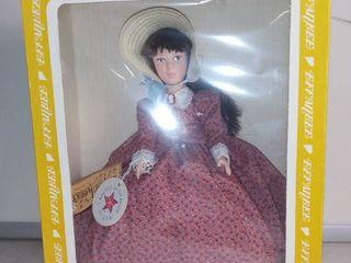 Vintage Effanbee little Women Doll in Box   Jo