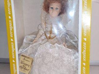 Vintage Effanbee Women of the Ages Queen Elizabeth in Box