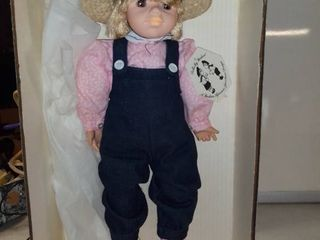 large Doll By Pauline In Box With Functional Eyes