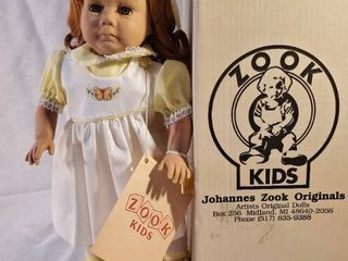 Vintage Zook Dolls aSunshinea limited Edition  125 1985 Signed in Original Box