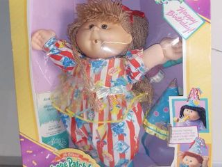 Vintage Cabbage Patch Kids Doll in Box Birthday Kids   Ailsa Katinka