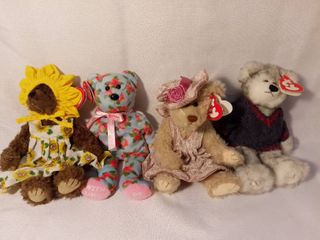 lot of 4 TY Beanie Babies with Original Tags