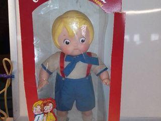 Vintage Campbell s Campbell Kids 17  Doll Eugene 1984 Boy