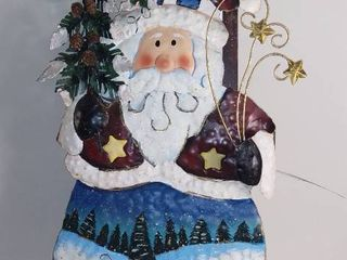 Metal Santa Claus Decoration