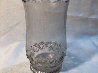 Glass Etched Vase location Shelf 5
