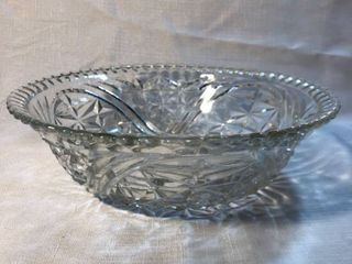 Glass Etched Serving Bowl location Shelf 5